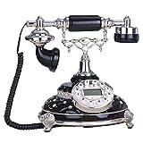 Landline Retro Telefon - Europäische Weinlese-Antike-Landlinie/Haupthandwerk 21 * 24 * 25cm (Farbe : C)