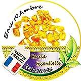 Bougie Relaxante parfum naturel Eau d'Ambre