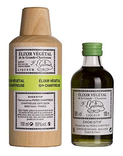 Chartreuse Licor Elixir - 100 ml