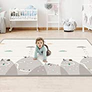 Baby Play Mat Folding Extra Large Waterproof Baby Crawling Mat for Infants Toddlers, Crawling, Gym or Tummy Ti