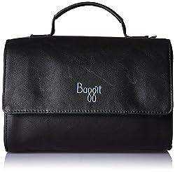 Baggit Womens Handbag (Black)