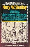 Verney, der letzte Mensch - Mary Wollstonecraft Shelley