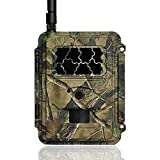Camara de caza y aguardos S358, envío de imágenes al móvil, cobertura 4G, 3G, 2G de infrarrojos invisibles, 12Mpx, vídeos en Full HD