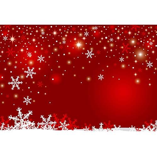 OERJU 3x2m Navidad Fondo Copo de Nieve cayendo Modelo Halos Bokeh Puntos...