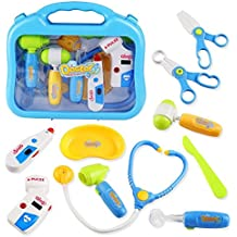 Juguete Médico Pretender Doctor Kit Maletín de Médico Rol Juegospara Niños 3 Anos +