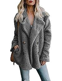 it Grigio Giacche Reverse Amazon cappotti e Donna Abbigliamento zdvRxnHW