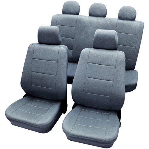 WOLTU AS7313gr Sitzbezüge für Auto Schonbezüge Sitzbezug grau