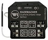 DuoFern Universal-Aktor 2 Kanal 9470-2 - Unterputz-Funkaktor für Licht und elektrische Verbraucher