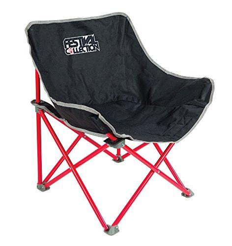 Coleman Chaise de Camping Festival Kickback, chaise pliante compacte et légère, structure en acier, Fauteuil Pliable, pour les festivals, la pêche, la plage et le jardin