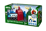 Brio GmbH Brio World 33834 - Smart Tech Zug mit Actiontunnels