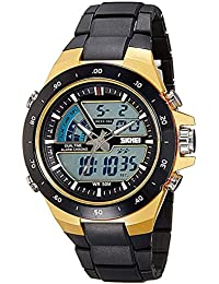 Swisstyle Analog-Digital Multi-Colour Dial Unisex's Watch-1016BBGO
