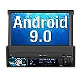 PUMPKIN Android 9.0 Autoradio 1 DIN GPS Ecran Tactile numérique 7 Pouces Navigation...