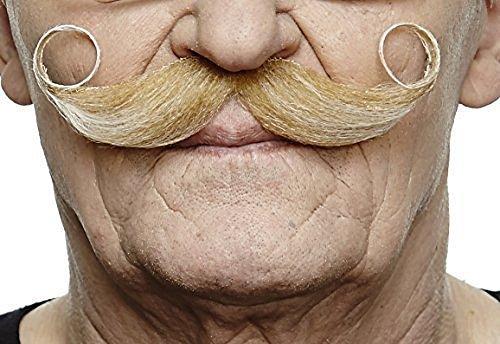 Blonder Maestror fälschen, selbstklebend Schnurrbart