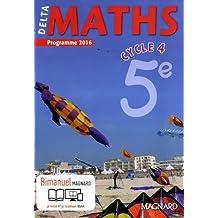 Delta maths 5e cycle 4 - Nouveau programme 2016