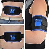 ELEGIANT Electronique Ceinture De Musculation Abdominale AEROBIC ABGYMNIC+Huile Massage