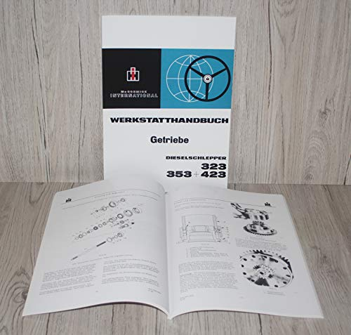 IHC MC CORMICK Werkstatthandbuch Getriebe Traktor 323 353 423