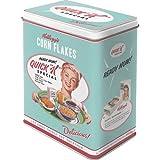 Barattolo di metallo per alimenti – Kellogg's Quick K Menu
