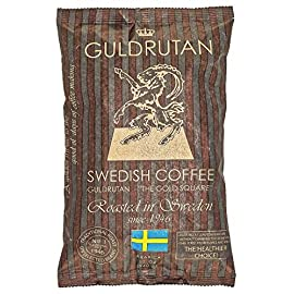 GULDRUTAN Arabica Ground Coffee Medium Roast 340 Gram, Low Acid Coffee Mild on Stomach