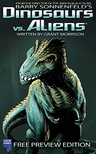 free kindle book Dinosaurs Vs Aliens: Free Issue, Issue 0