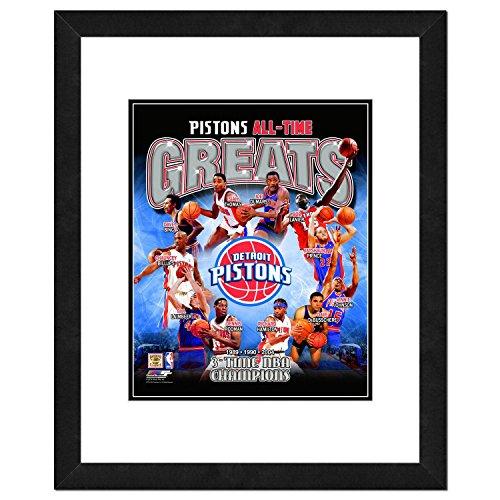 Herren, Detroit Pistons All Time Greats, Mehrfarbig, Einheitsgröße ()