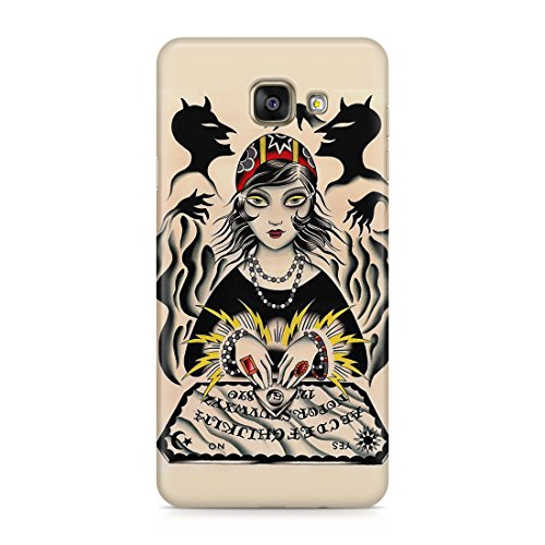 Cover Custodia Protettiva Case Tavola Ouija Spiriti Fantasmi Halloween Horror Sensitiva Compatibile con Samsung Galaxy A Series A3 – A5 – A3 2016 – A5 2016 – A7 2017 – A3 2017 – A5 2017 – A7 2017