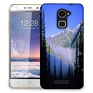 Snoogg Mountain Fog Designer Protective Phone Back Case Cover For Coolpad Note 3 Lite