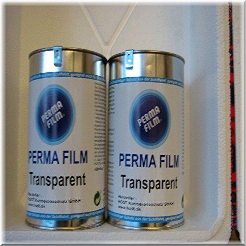 Preisvergleich Produktbild 2 x Perma Film transparent 1 Liter