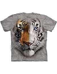 The Mountain Unisexe Enfant Tête Partage De Tigre T Shirt