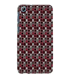 EPICCASE biased locks Mobile Back Case Cover For HTC Desire 826 (Designer Case)