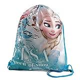 Disney Frozen Elsa Queen of Snow Turnbeutel mit Kordelzug, Multi