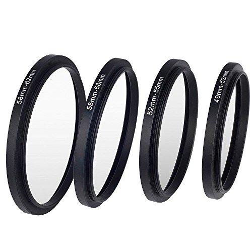 Set de 7 anillos adaptadores