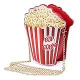 Turelifes - Borsa a tracolla Donna Ragazza Adolescente, (Popcorn), S