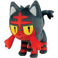 Pokemon T19323 - Tomy Plüsch Figur Bauz Rowlet, Kuscheltier