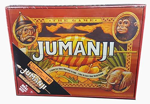 Jumanji- Jeu de Plateau Bois Édition Rétro, 6054665,...