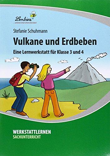 Vulkane und Erdbeben (PR): Grundschule, Sachunterricht, Klasse 3-4 - Kopiervorlagen, Schnellhefter