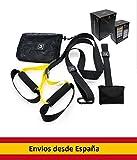 0lisur stores Juego DE Entrenamiento EN Suspension, Kit Suspension Trainer Fitness, Crossfit
