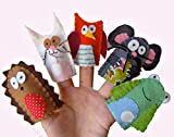 Animal finger Puppets - Wildlife