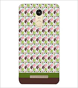 PrintDhaba Fish Pattern D-1847 Back Case Cover for XIAOMI REDMI NOTE 3 MEDIATEK (Multi-Coloured)