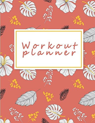 Workout planner: Fitness Journal and Diary Workout log:Gym Training Log Book 120 pages Large Print 8.5