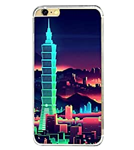 High Rise Buildings 2D Hard Polycarbonate Designer Back Case Cover for Apple iPhone 6S