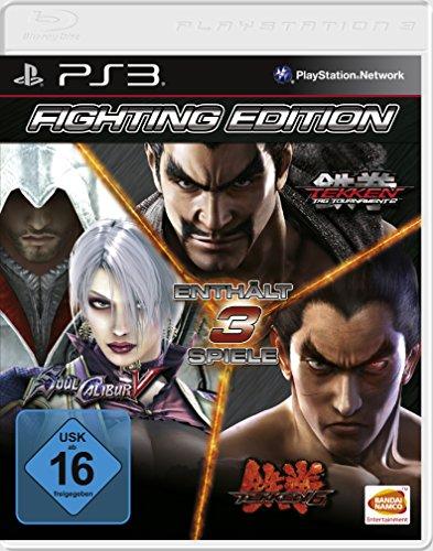 Fighting Edition (SoulCalibur V - Tekken 6 - Tekken Tag Tournament 2) [Software Pyramide] -