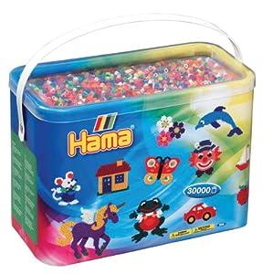 Hama - Abalorio de juguete (208-68) , Modelos/colores Surtidos, 1 Unidad