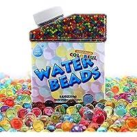 50000 Perlas de Agua Cristalino Bolitas Gel para Orbeez SPA Decoración de Boda Aqua Perlen Floreros
