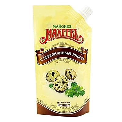 Lackmann Russische Mayonnaise mit Wachteleigeschmack, Macheew