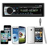 Sannysis Auto Audio Bluetooth estéreo Unidad Jefe de MP3 / USB / SD / AUX / FM Entrada AUX 1235