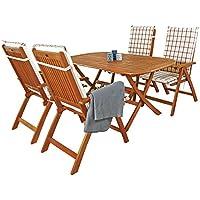 Indoba IND 70063 BASE5 Plus IND 70409 AUHL Serie Bangor Gartenmöbel Set