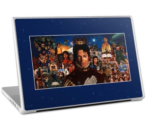 Preisvergleich Produktbild MusicSkins Michael Jackson-King Of Pop Schutzfolie für 33.02 cm MacBook, MacBook Pro, MacBook Air und Laptops