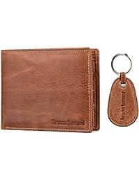 bruno banani Herren Geldbörse Portemonnaie Geldbeutel mit Schlüsselanhänger 2803