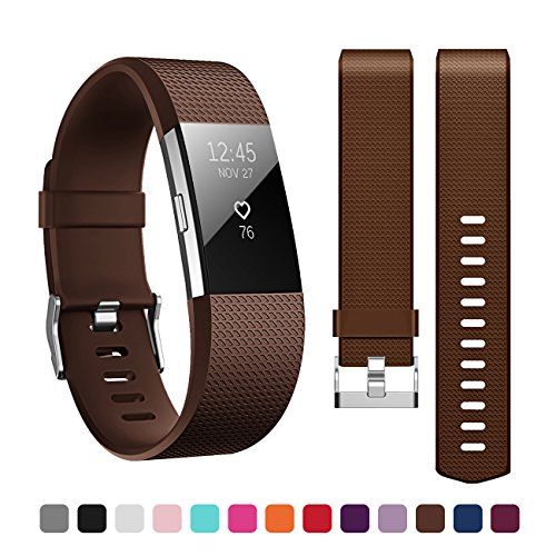 Fitbit Charge 2 Armband,Kutop TPU weiches Silikon Sporty Ersetzerband Silikagel Fitness verstellbares Uhrenarmband für Fitbit Charge 2