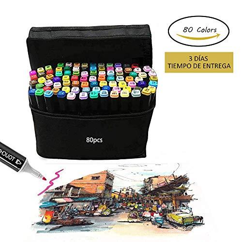 Marker Pen, 80 colores Graffiti Pen Grasa marca colores